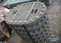 Type A Type E Manhole , Main Hole Cover High Strength Steel For Bulkhead Access