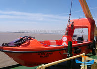 Light Berat Solas Rescue Boat, Fire Protected Lifeboat 6-16 Kapasitas Person