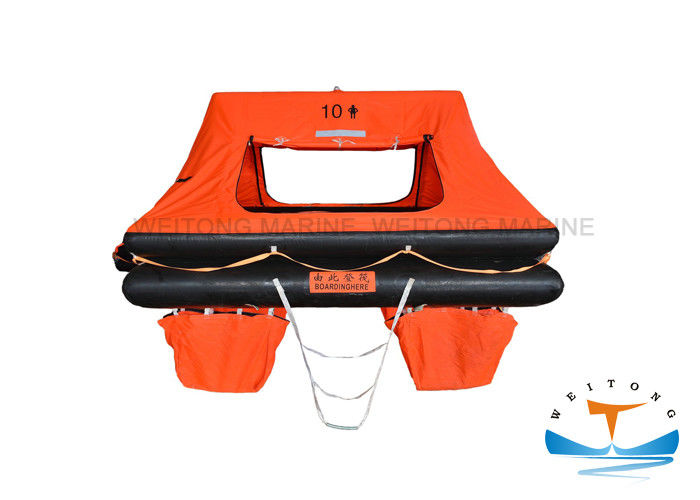Orange Marine Life Raft Self Righting OEM/ODM Available MSC 293 Standard