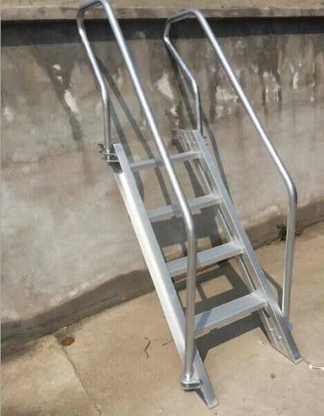 Cargo Hold Bulwark Ladder Aluminum Light Weight Large Safety Factor 1100x1340mm