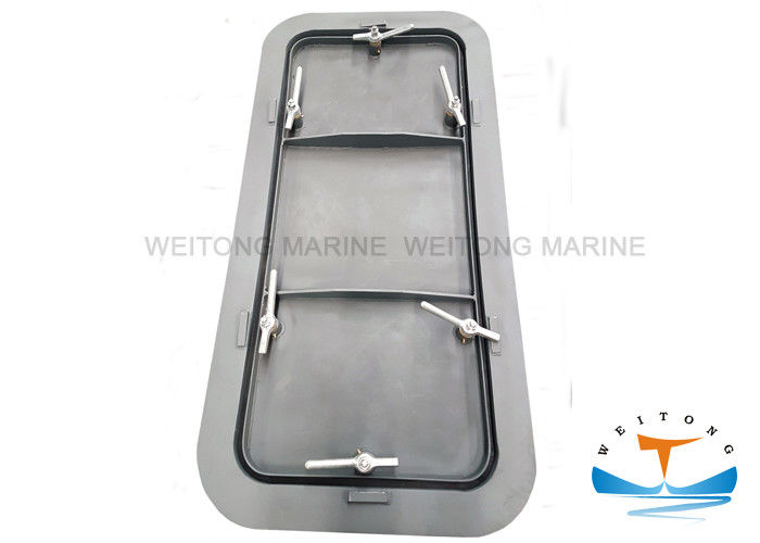 1600×800mm Gastight Marine Fire Doors Dog - Clip Operation Type Mill Certificated