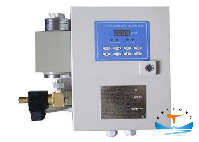LED Numeric Display Marine Anti Pollution Equipment Oily Bilge Separator