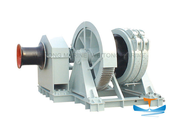 Steel Carbon Hydraulic Anchor Winch 5-350 Kn Warping Load Easy Transferring