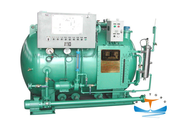 AC380V Marine Anti Pollution Equipment 1150 Kg Wastewater Treatment Plant