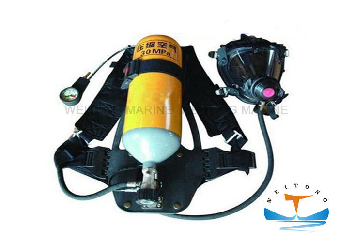 Firefighter Portable Breathing Apparatus 30 MPa Working Pressure With Steel Cylinder