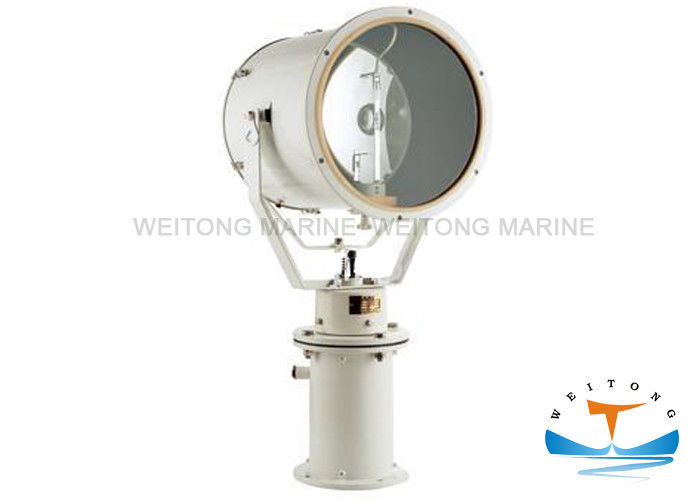 Ship Remote Control Marine Spot Lights , Marine Searchlight 1000W TZ1-N For Vessel