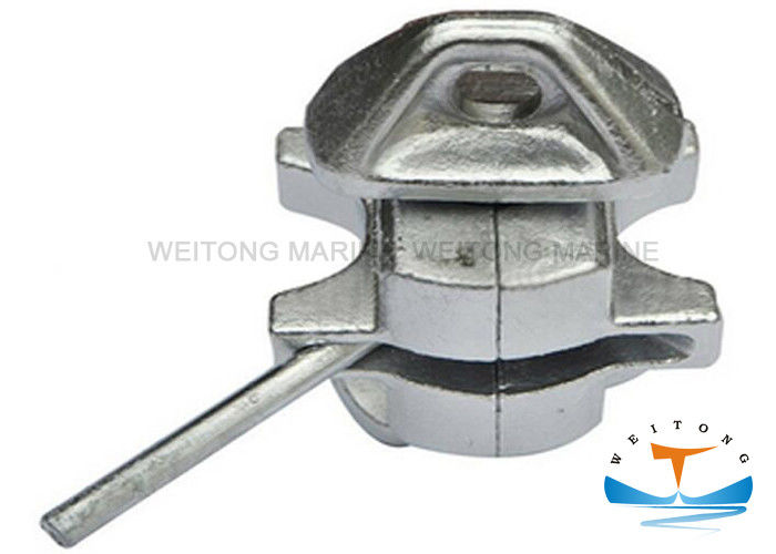 Cast Body And Forged Steel Heads Container Lashing Lock / Intermediate Twistlock