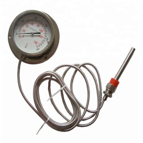 Temperature Probe Φ14 X 60 Remote Reading Thermometer / Boiler Capillary Thermometer
